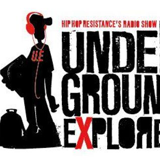 7/04/2013 Underground Explorer Radioshow Part 1 Every sunday to 10pm/midnight With Dj Fab