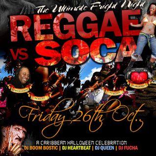 THE MAD SOCA REWIND MIX YA READY FRIGHT NIGHT REGGAE VS SOCA