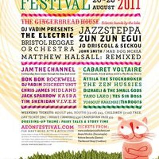 The Ben Stretton Show - Aeon Festival 2011 Special - Phonic 106.8 fm