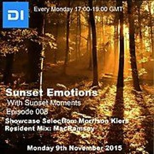 Sunset Emotions Episode 008 With Sunset Moments Morrison Kiers And MacRamsey (9/11/15 di.fm)