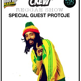 Green Lion Reggae Show- Special Guest Protoje on Big Up Radio & WXGR 103.5FM