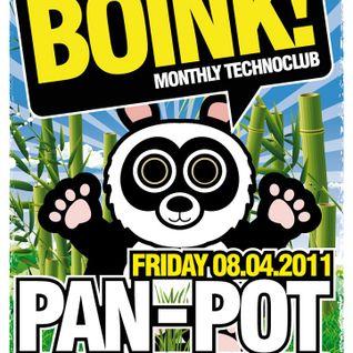 Pan Pot Live @ Boink Camera Club,Vienna (08.04.2011)