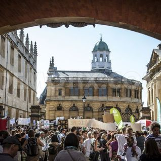 Oxford Refugees Welcome Demonstration - 4th September 2015