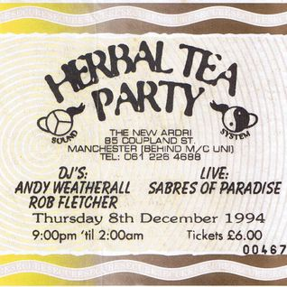 Andrew Weatherall's set after Sabres of Paradise live at Herbal Tea Party Manchester 8 December 1994