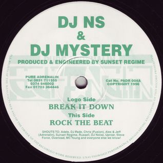DJ Mystery And DJ NS - 91 and 92 Old Skool - Kane FM - 03.04.2012