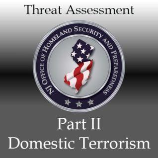 New Jersey's Terrorism Threat Assessment (Part II): Domestic Terrorism