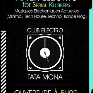 CLUB AFTER TATA MONA Party Record SPACEPEDRO techno mix