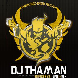 ThaMan - Live At Trax-Radio (Early Hardcore) 28-11-2015