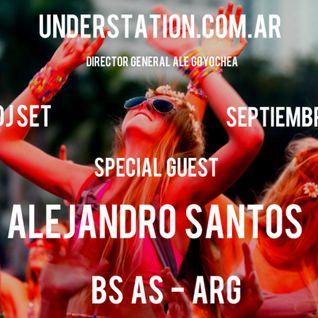 Live DJ Set emitido www.understation.com.ar Santosa @ Under Station Radio Septiembre 2016