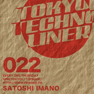 TOKYO TECHNO LINER EP022 - SATOSHI IMANO