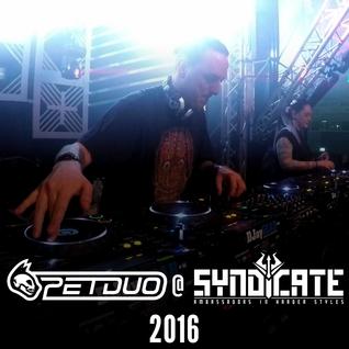PETDuo 6 Decks set @ Syndicate Festival , Germany - 01.10.2016