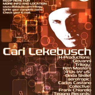 Giovanni Dj set @ Trilogy presents: Cari Lekebusch