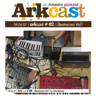 ARKcast # 02 | Beatacora Vol1 by Mwëslee