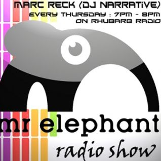 Mr Elephant Radio Show #40 - Hosted by Marc Reck - 3rd November 2011