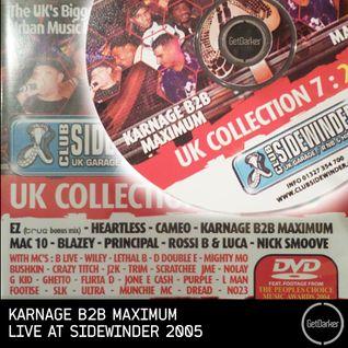 DJ Karnage b2b DJ Maximum [Roll Deep v Boy Better Know] - Live at Sidewinder - 2005