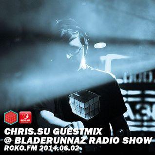 CHRIS.SU guestmix @ Bladerunnaz Radio Show, RCKO.FM 02-06-2014