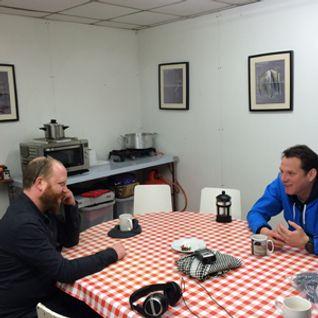 Matt Burman in conversation with Alan Lane at Slunglow's Hub
