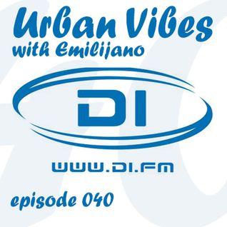 Emilijano - Urban Vibes 040 [DI.FM] (November 2014)