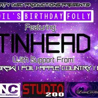 Live at Studio 200 for Foil's bday 10-03-14