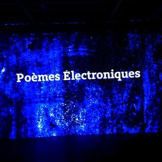 Poemes Electroniques: Live At WREK 91.1FM / Atlanta [24.03.2015]
