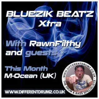 Bluezik Beatz Xtra #8 Guest mix By M-Ocean (UK) Live on Different drumz [19-08-16]