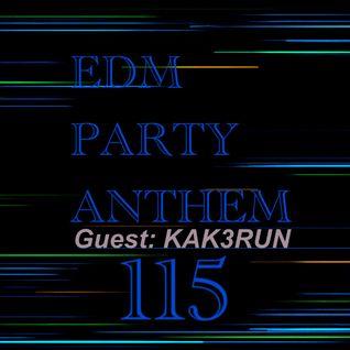 HIK@RUN EDM MIX 115 (Incl: Guest Mix)