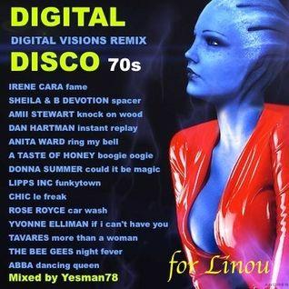 DIGITAL DISCO (Donna Summer, Tavares, Abba, Chic, The Bee Gees, Amii Stewart, Irène Cara, Sheila ..)