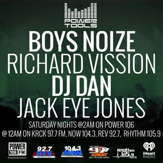 Powertools Mixshow - Episode 4-16-16 Ft: Boys Noize, Dj Dan, & Jack Eye Jones