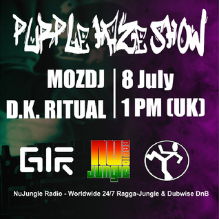 Purple Haze Show - D.K. Ritual Guest Mix @ NuJungle.Com (08.07.2016)