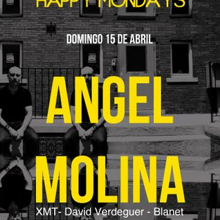 Blanet - Warm up for Angel Molina @ Happy Mondays/Miniclub (Abril 2012)