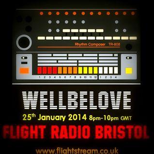 Wellbelove on Flight Radio Bristol - Show 8
