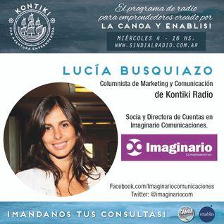 Primer Programa - Columna de Prensa - Lucia Busquiazo