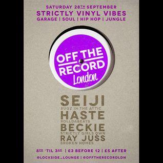 Beckie Live @ Lockside Lounge 28.09.2013