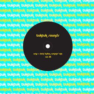 tuktuk sounds vol. 36 | amp + deck 'indian summer' mix