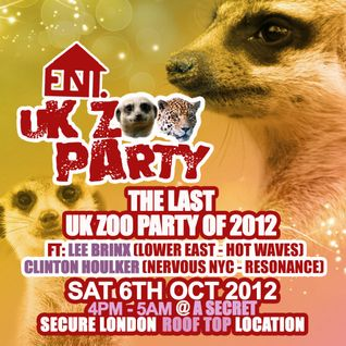 Anticx Live @ UK Zoo Party 06/10/2012