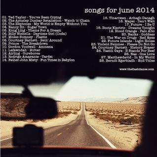 SONGS FOR JUNE 2014