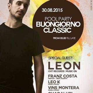 Franz Costa - Buongiorno Classic 30.08.15 Live At Classic Club Rimini (IT)