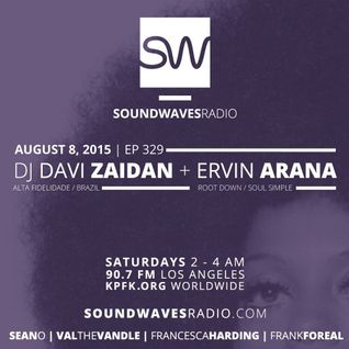 DJ DAVI ZAIDAN at SOUNDWAVESRADIO SHOW, KPFK 90.7 FM, Los Angeles, CA