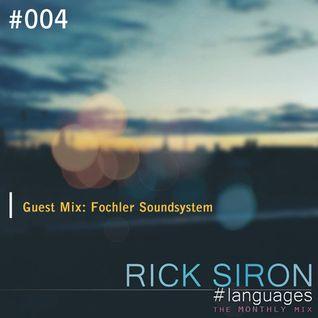 Fochler's Guest Mix For Rick Siron's Languages #004 [Dec 01 2014]