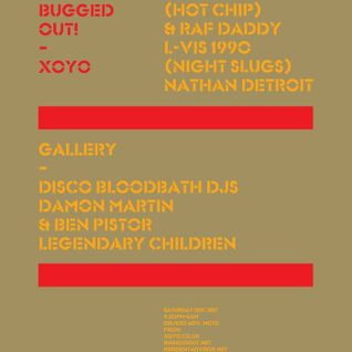 Ben Pistor - Bugged Out! XOYO New Years Eve mix