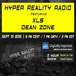 Dean Zone - Hyper Reality Radio Episode 043 Guest Mix (September 2016)