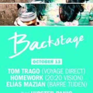 Rob Black Live at Hipster Panic x Backstage 13-10-12
