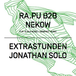 EXTRASTUNDEN Warm up mix for RA.PU & NEKOW / PARA CLUB SWITZERLAND