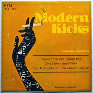 Modern Kicks on KFAI - 04/09/2014