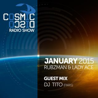 Cosmic Disco Radioshow - JANUARY 2015