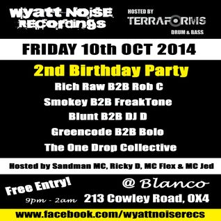 DJ Blunt - Wyatt Noise Recordings 2nd Birthday
