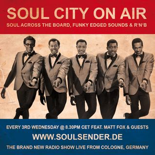 Soul City on t'radio feat. Kristian Auth & Matt Fox, 15.08.2012, Cologne