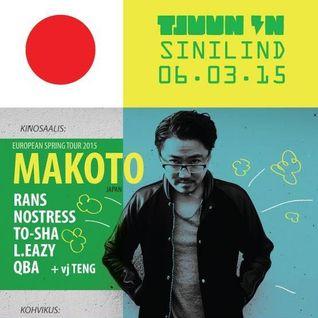 Makoto (Good Looking Records, Human Elements) @ Tjuun In Show, Raadio 2 - Estonian (03.04.2015)