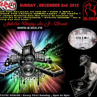 J.K Psts JuliAn Deejay aka J-Sweet - Static House December 2012 (B-Mix)