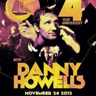 Danny Howells - Live at Asylum 4 Year Anniversary, Asylum, Hawaii (24-11-2012)
